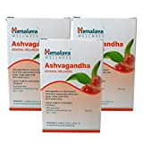 Himalaya Ashvagandha Men's Wellness Tablets - 60 Count (Pack of 3)