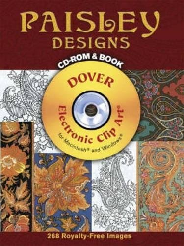 Paisley Mode (Paisley Designs [With CDROM] (Dover Electronic Clip Art))