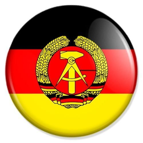Preisvergleich Produktbild Flagge DDR Kühlschrankmagnet Magnet Magneten Pinnwand Magnet Pinnwand