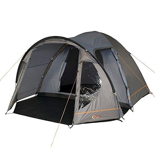 Portal Delta 4 Campingzelt für 4 Personen Outdoor Kuppelzelt mit 4000 mm Wassersäule Familienzelt
