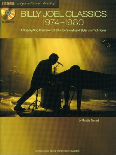 Billy Joel Classics 1974-1980-Keyboard Signature Licks-Music Book by Billy Joel (31-Oct-2003) Paperback