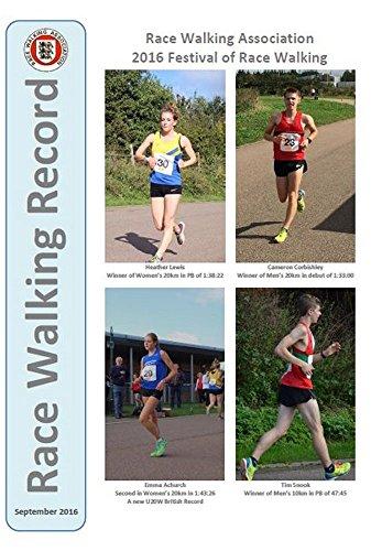 Race Walking Record 852 - September 2016 (English Edition) por Noel Carmody
