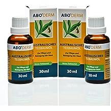Reines Australisches Teebaumöl zur Pflege und Reinigung der Haut, 2x 30 ml