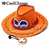 CoolChange ONE PIECE - Puma D. Ace Cosplay Hut Hat Anime Manga Kostüm