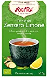 Yogi Tea Té Verde Limón Jengibre - 17 unidades