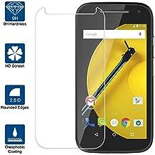 Beiuns Vidrio Templado Protector de Pantalla para Motorola Moto E 4G (4,5 pulgadas, 2015, 2 Generación)