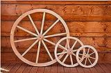Holzrad, Ø 700 mm, ein wunderschönes Deko-Stück