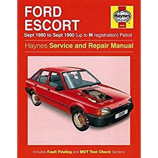 Haynes - Ford Escort 1980 TO 1988
