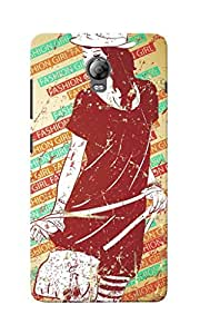 KnapCase Fashion Girl Designer 3D Printed Case Cover For Lenovo Vibe P1