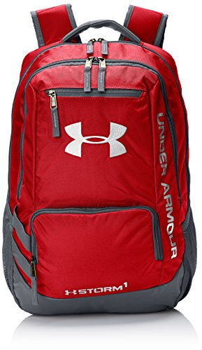 Under Armour UA Hustle Backpack II Mochila, Unisex Adultos, Rojo (Rojo)