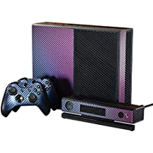 eXtremeRate® Xbox One Pegatina Decals, Set de Skins Wrap Stickers Cover Protector Full Faceplates Etiqueta para Xbox One Console, Kinect, 2 Controllers