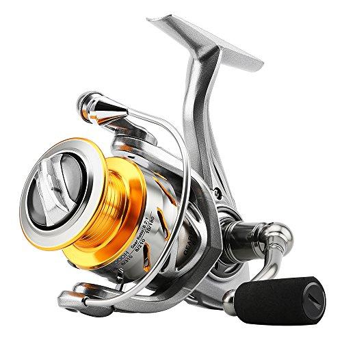SKYSPER Carretes de spincasting 10 + 1BB Pesca Spinning...