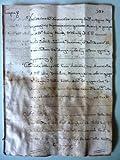 Manoscritto Aversa 8 Dicembre 1779, Notaio Nunzio Pallucci - Contratto di Cessione Camera in Affitto fra Suore