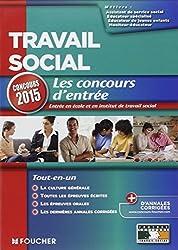 Travail social - Concours d'entrée 2015 - Nº15