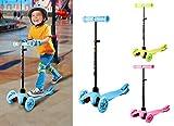 Acecoree Kickboard Scooter für Kinder ab 3 Jahren mit 3