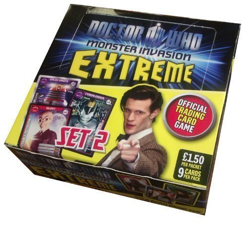 DOCTOR (DR) WHO MONSTER INVASION EXTREME TRADING CARD for sale  Delivered anywhere in UK
