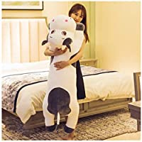 Gray Cute Cow Plush Toy Rag Doll Sleeping Pillow Bed Doll Girl Doll Gift