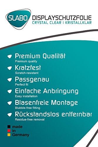 2 x Slabo Bildschirmschutzfolie Alcatel PLUS 12 Bildschirmschutz Schutzfolie Folie