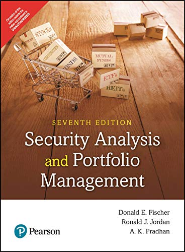 Security Analysis Portfolio Management (7e) by Pearson