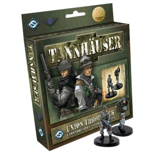 Tannhauser Union Troop Pack: Commando Alpha and Commando Delta