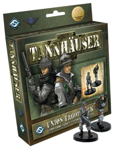 Tannhauser Union Troop Pack: Commando Alpha and Commando Delta