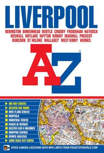 Liverpool Street Atlas (A-Z Street Atlas S.) por Geographers' A-Z Map Company