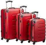 Packenger Koffer 3er-Set Marina, M/L/XL, Rot