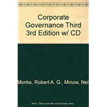 Corporate Governance Third 3rd Edition w/ CD