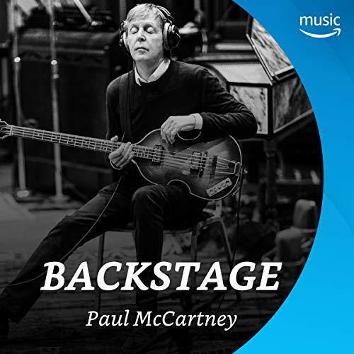 Backstage mit Paul McCartney