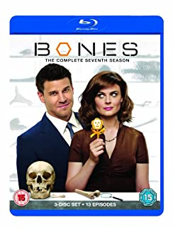 Bones - Season 7 [Blu-ray] [Region Free] (B005ZC7HRW) | Amazon price tracker / tracking, Amazon price history charts, Amazon price watches, Amazon price drop alerts