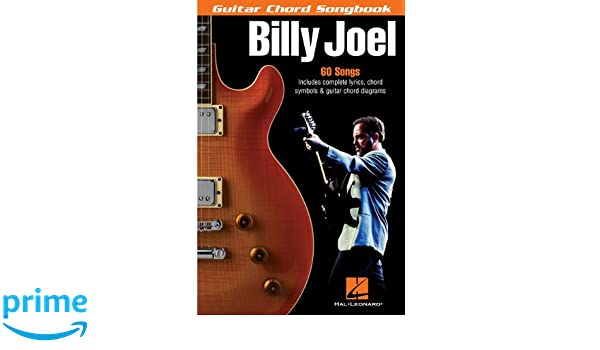 BILLY JOEL GUITAR CHORD SONGBOOK 6 X 9: Amazon.co.uk: Various: Books