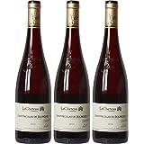 LaCheteau France Loire Valley Vin Saint Nicolas de Bourgueil AOP 2015 75 cl - Lot de 3