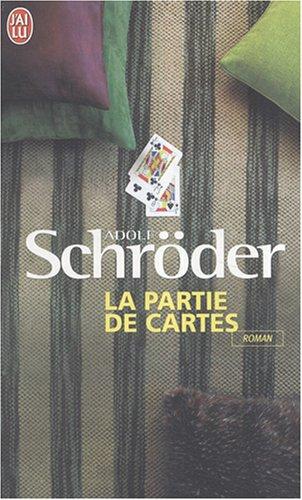 La partie de cartes par Adolf Schroder