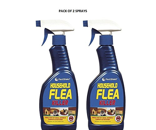 HOUSEHOLD FLEA KILLING SPRAY FOR DOG,BED,CAT CARPET FURNITURE (500ml)BED BY 151 (PACK OF 2 SPRAYS)