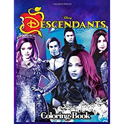 Disney Descendants 3 Coloring Book: Jumbo Descendants 3 Coloring Book With Unofficial Premium Images for Kids and Adults