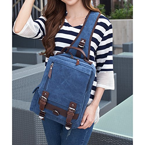 Imagen de outreo bolso de pecho bolso vintage bandolera  bolsos de tela bolsas viaje hombre messenger bag para colegio escolares mujer bolsa alternativa