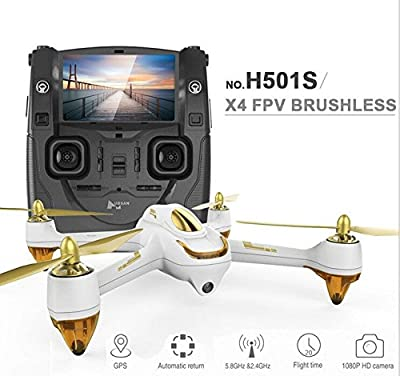 XT-XINTE Original Hubsan H501S X4 5.8G FPV RC Drone With 1080P HD Camera Quadcopter with GPS Follow Me CF Mode Automatic Return from XT-XINTE