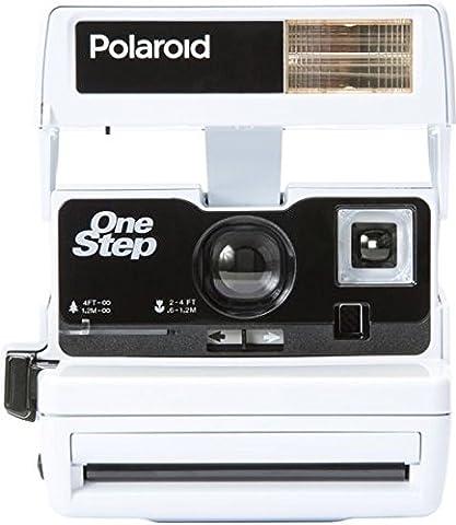 Impossible Polaroid 600 Sofortbildkamera One Step Close up Sonderedition bright weiß