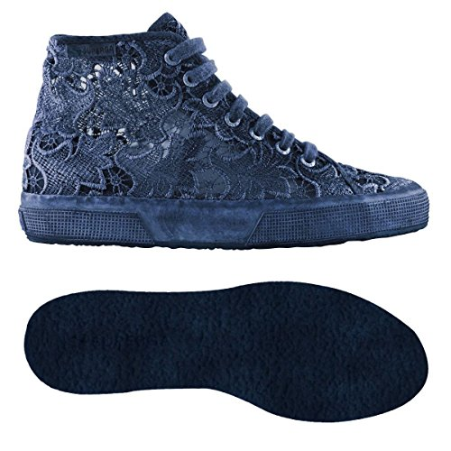 Chaussures Le Superga - 2795-macramedyedw Blue Navy