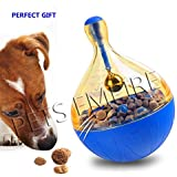 Pets Empire IQ Treat Food Dispensing Dog Toy Ball for Boredom (Colour May Vary)