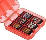 AmazonBasics - Aufbewahrungsbox f�r Spiele der Nintendo Switch - Rot Bild