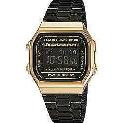 Reloj Casio Collection para Unisex A168WEGB-1BEF