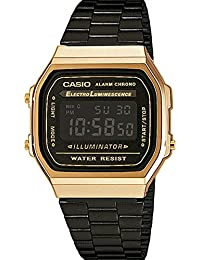 Casio Collection Unisex Retro Armbanduhr A168WEGB-1BEF