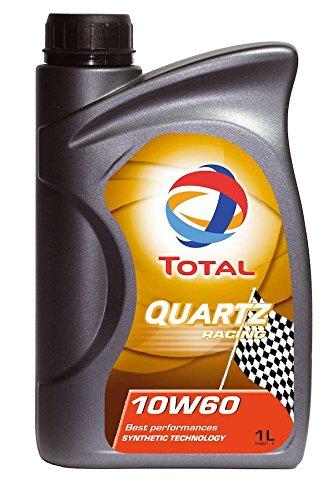 Olio per motore Total Quartz Racing 10W60, contenitore da 1 L
