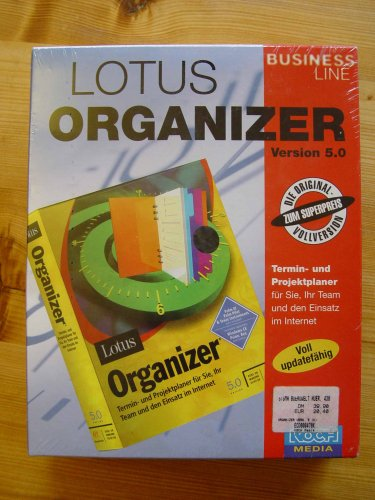 Lotus Organizer Version 5.0