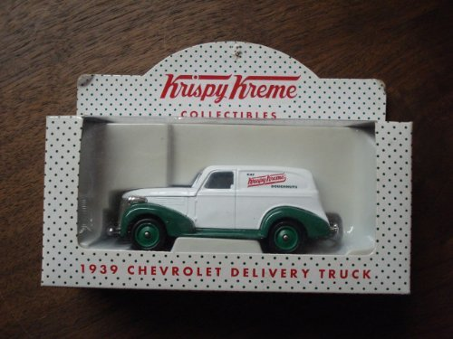 lledo-collectibles-krispy-kreme-1939-chevrolet-delivery-truck-white-green-by-lledo-collectibles