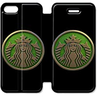 Funda iPhone 6 6S Plus 5.5 Inch Wallet Leather Case,Eartha Dolores Shop [Starbucks] 9U7WC