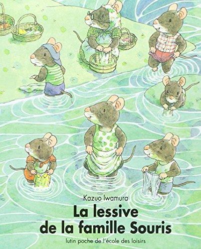 Iwamura/Lessive Famille Souris (Les Lutins)