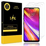 K&L [3 stück LK Schutzfolie für LG G7 One/LG G7 Fit/LG G7 ThinQ (Premium-Qualität) Displayschutzfolie Anti-Bubble [volle Abdeckung] HD Klar Folie [Lebenslange Ersatzgarantie]