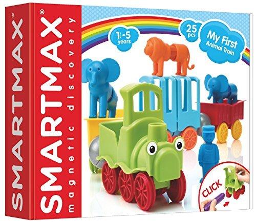 Smartmax SMX410 Pierre Belvedere- Toys 249887 Mon Premier Train d'Animaux